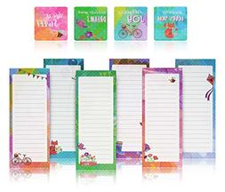 Charming Magnetic Notepads & Inspirational Refrigerator Magn