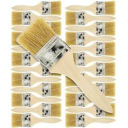 "US Art Supply 2"" Chip Brushes Paint Glue Adhesives Touchups"