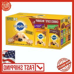Pedigree Choice Cuts in Gravy Variety Pack of 24 Pouches 6 o