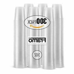 Framo 3 Oz Clear Plastic Cups in Bulk for Any Occasion, BPA-