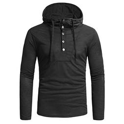 Clearance Sale! Wintialy Fashion Men's Autumn Fastener Long