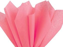 Coral Pink Tissue Paper - 100 sheets 15 Inch x 20 Inch by Fl