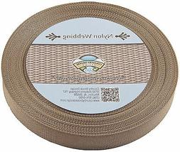 Country Brook Design 1 Inch Coyote Tan Lite Weight Nylon Web