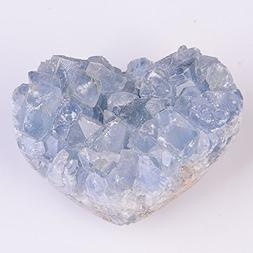 QianYa Natural Crysta Sparkling Celestite Cluster Allies Sto