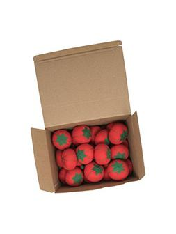 Dritz CW29 Bulk Package Tomato Pin Cushion with Emery, 24-Pa