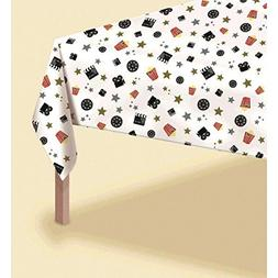 Amscan Unisex Adult Director's Cut Hollywood Plastic Tableco