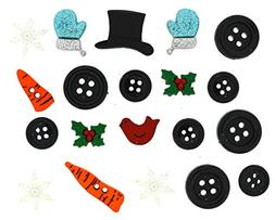 Jesse James  Dress It Up Buttons Christmas Collection #4888