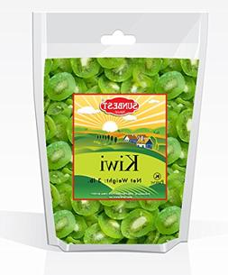 SUNBEST Dried Kiwi Slices 3 Lbs in Resealable Bag