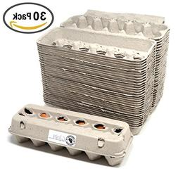 Egg Cartons - 30 PACK - Free Labels Included - 100% recycled