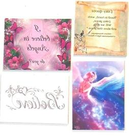 Fairy quote hand in hand bless this place believe butterfly