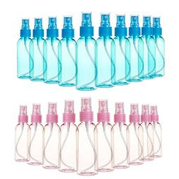 Juvale Fine Mist Mini Spray Bottles with Atomizer Pumps- for