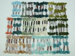 DMC Floss New Variations Colors - Lot of 63 Skeins - Made in