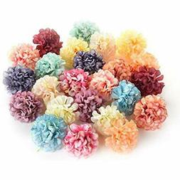 flower heads in bulk for crafts artificial