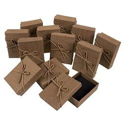 Gift Box Set - 12-Piece Jewelry Gift Boxes for Rings, Pendan