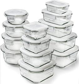 Glass Storage Containers with Lids - Glass Food Storage Con