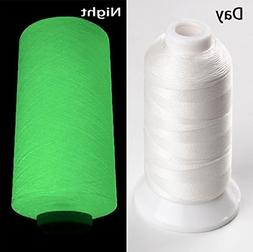 YEHAM 3000Yards/2700M Glow in The Dark Embroidery Thread