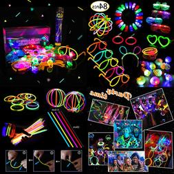 Glow Sticks Bulk 84pcs Glow in the Dark LED Party Supplies S