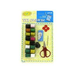 Bulk Buys HB067-48 All-In-One Sewing Kit with Thread - Pack