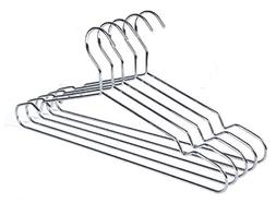 Quality Hangers 60 Heavy Duty Metal Suit Hanger Coat Hangers