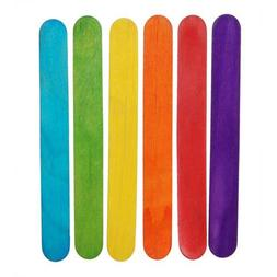 Better crafts 6 Inch Jumbo Craft Sticks in Bright Colors - 5