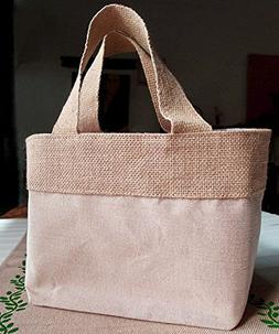 Natural Jute Burlap Bags  | Eco Friendly & Reusable Jute Cot