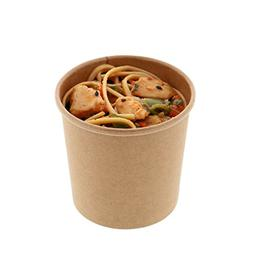 kraft paper food containers