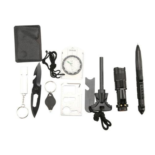 10 Outdoor Camping Military Kit Tool