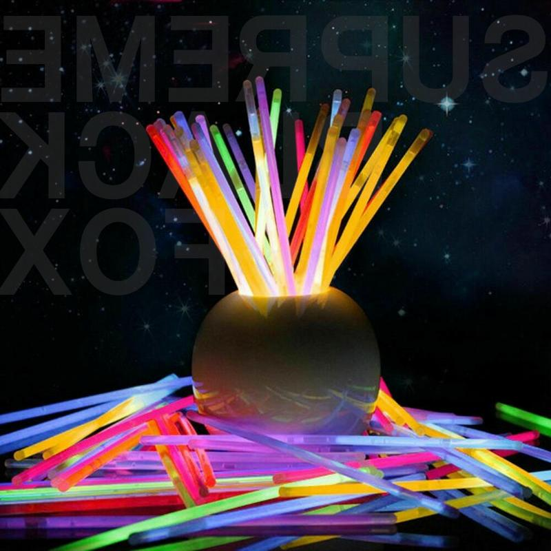 100/300 Glow Sticks Party Supplies The Fun Pack