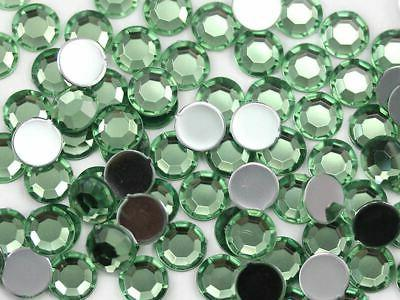 1000PCS 5mm SS21 Back Acrylic Bulk