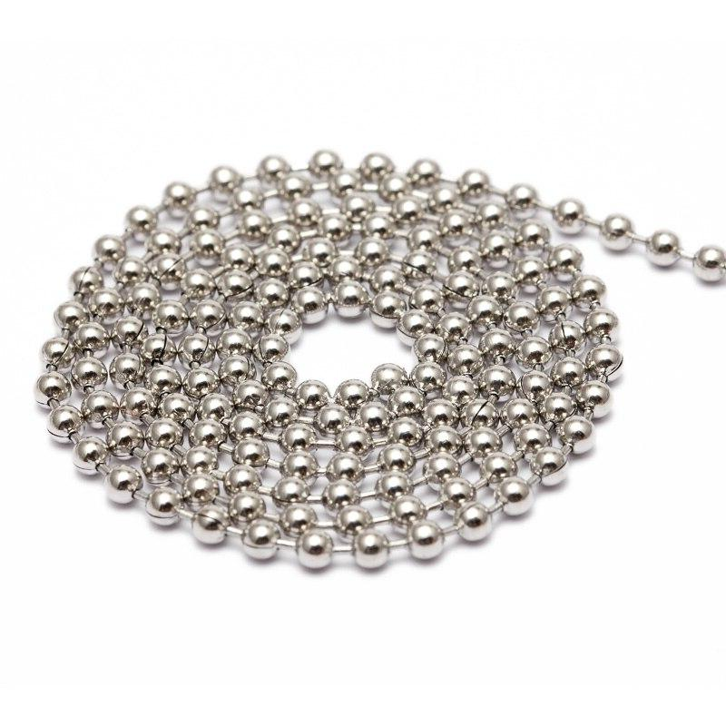REGELIN 2mm Stainless Steel Jewelry Chains Necklaces Jewelry Making