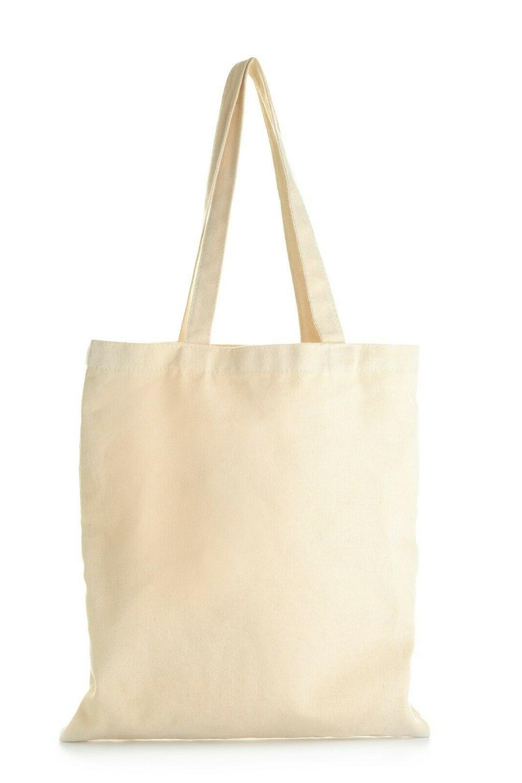 12 Canvas Bags in Decorating, Gifts, Favors