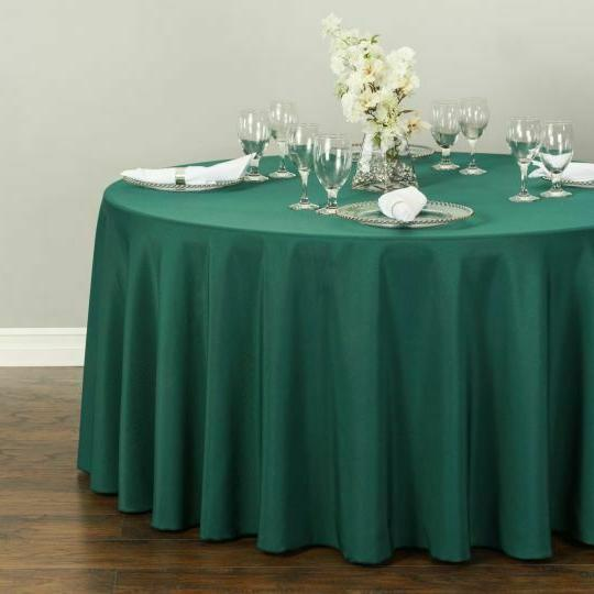 Bulk Sale 108 in. Round Tablecloth 10/20/30/50 Colors