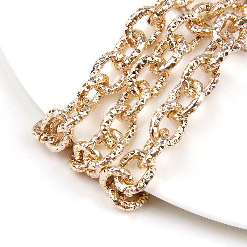 1Meters Oval Fit Bracelets Findings Open Link Chain For Jewelry Making Bag
