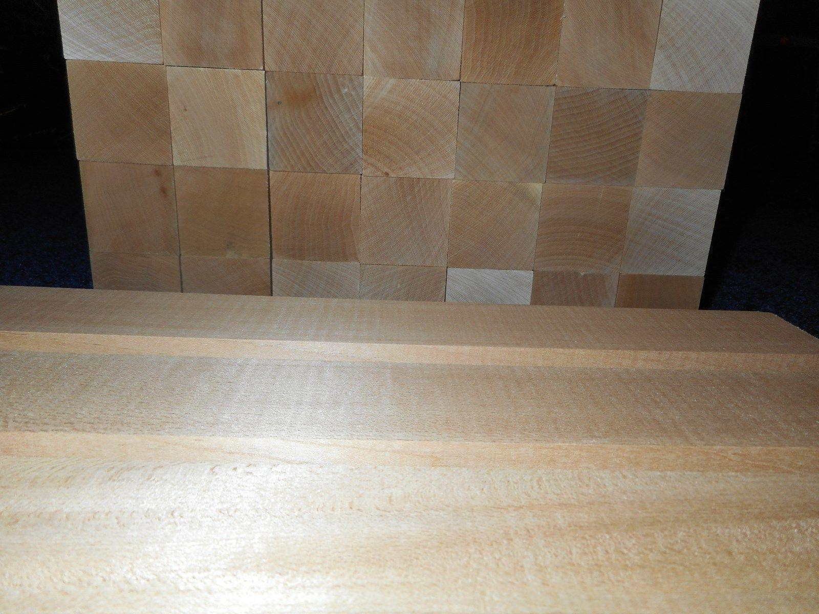 "2"" x 14"" Basswood Blocks Craft Lumber DRIED* IN"