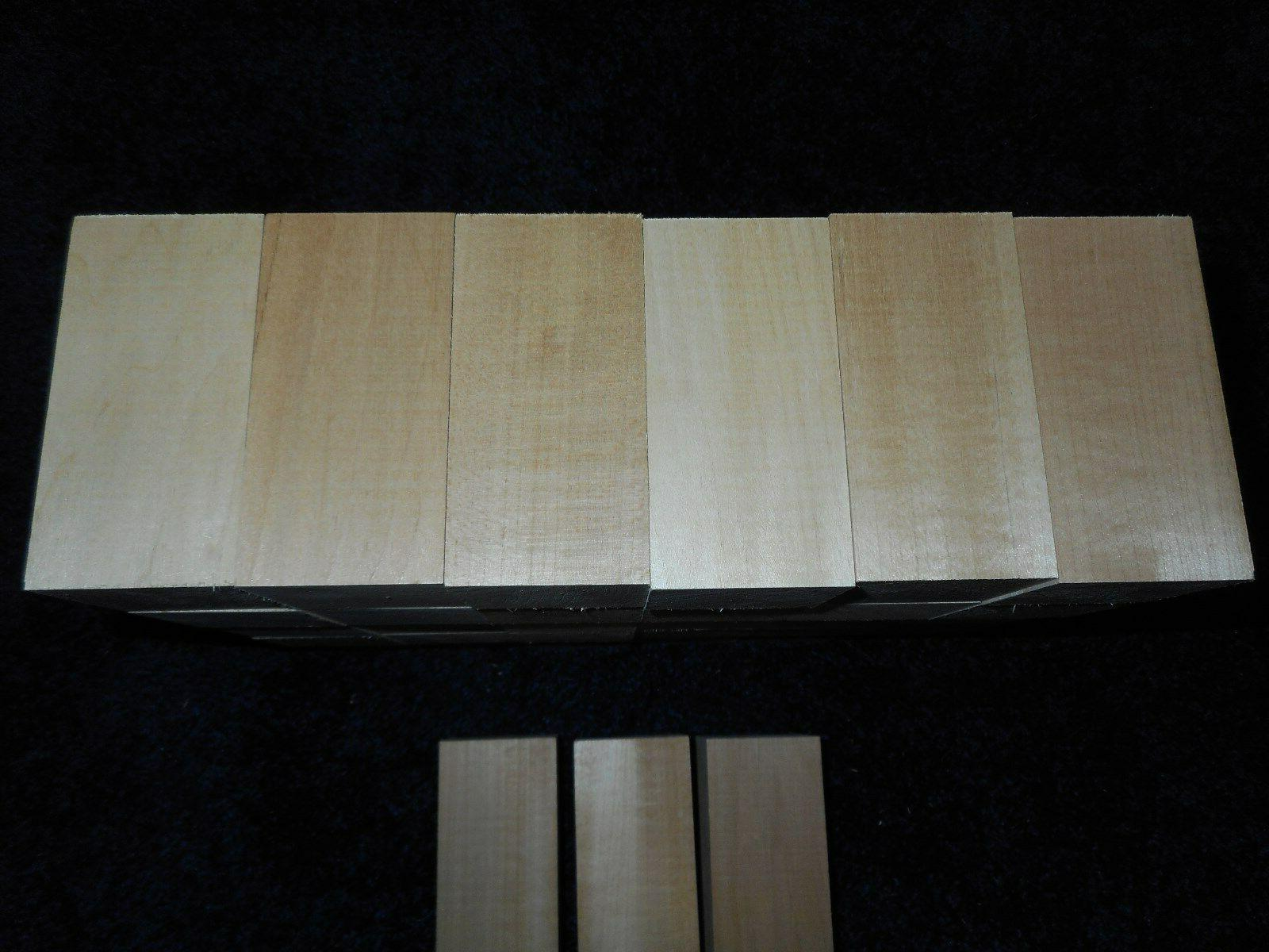 "2"" x 4"" Basswood Blocks Lumber DRIED* BUY IN"