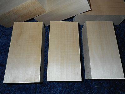 """2"""" 3"""" x 6"""" Basswood Carving Blocks DRIED*"""