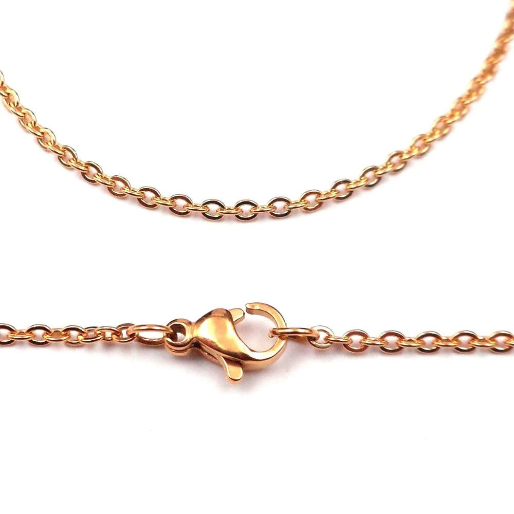 """Granny 16""""-30"""" Popular Thin Stainless Steel Rolo Chain"""