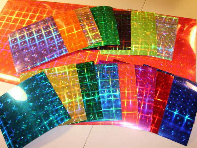"""24"""" Disco Holographic Lure Tape 15"""