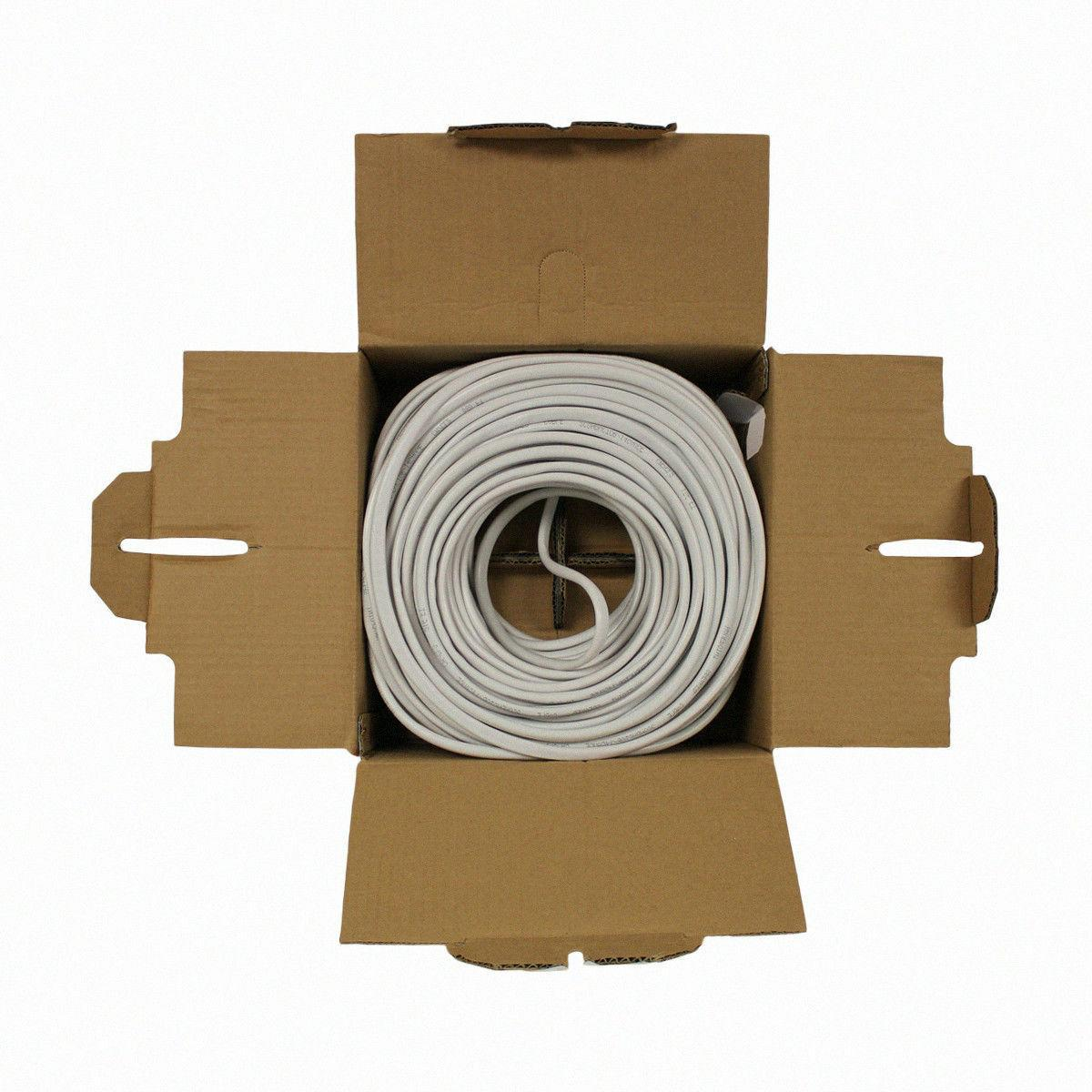 250ft Speaker Cable Wire Conductor White