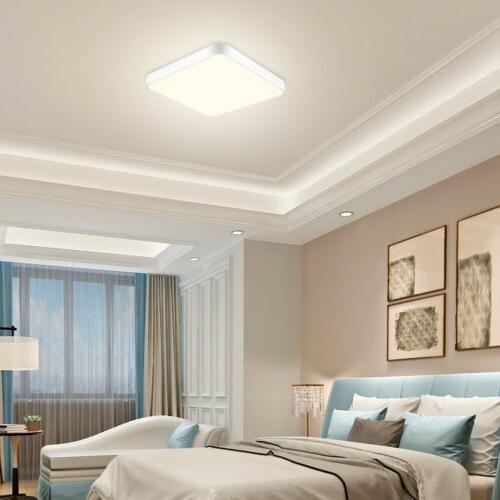 4x Ceiling Warm Thin Flush Home Fixture