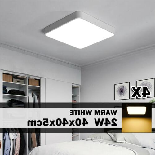 4x 24w 16in ed ceiling light warm