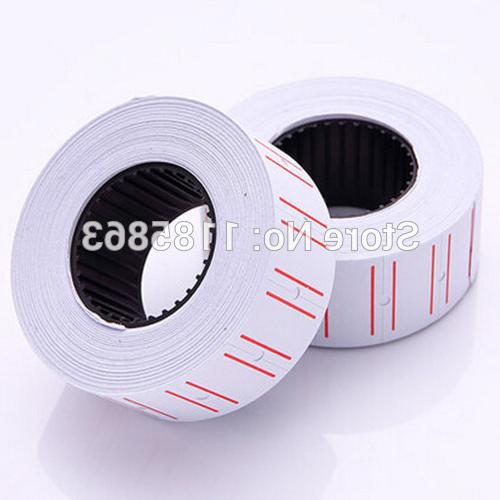 5 Label Labels 12mm <font><b>Paper</b></font> Tags White For Sets New