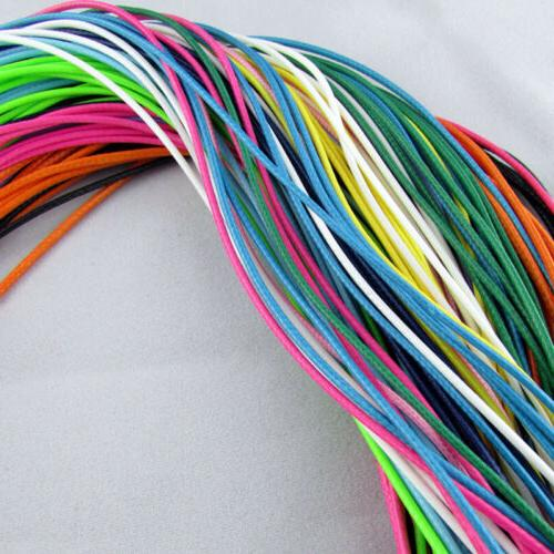 50Pcs Leather Cords Jewelry Making