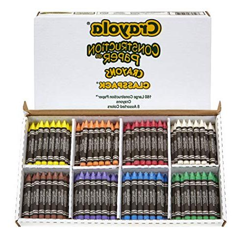528059 construction paper crayons