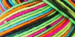 Bulk Buy: Red Heart Super Saver Yarn  Blacklight E300-3939