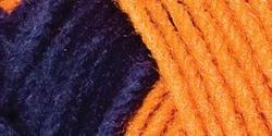Bulk Buy: Red Heart Team Spirit Yarn  Orange/Navy E797-960