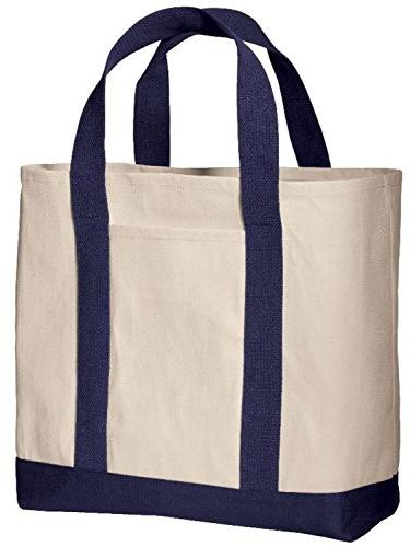 0b45475038f Pack of 3 - Heavy Duty Cotton Canvas Twill Travel Tote Bags