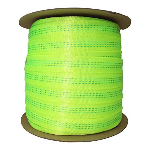 BlueWater Tubular for Climbers - Heavy Duty Strap for Rescue, Climbing, Harnesses, & Firefighting