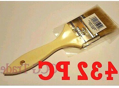 Bulk 432 of 2 Inch Chip Brush Disposable for Adhesives Paint