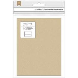 Bulk Buy: American Crafts  A2 Envelopes  25/Pkg Kraft 368585